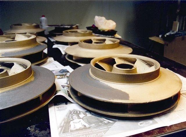Санација и заштита на конденз пумпи – Термоелектрана РЕК Осомеј